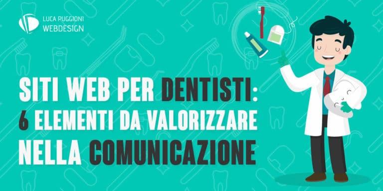 Siti web per dentisti, gli elementi da valorizzare